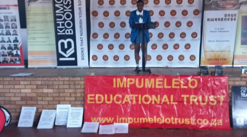 Impumelelo Educational Trust commemorates Youth Day